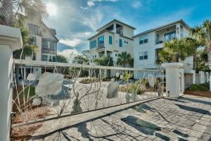 Welcome to the gated community of Caspian Estates, South of 30A and steps to the beach.