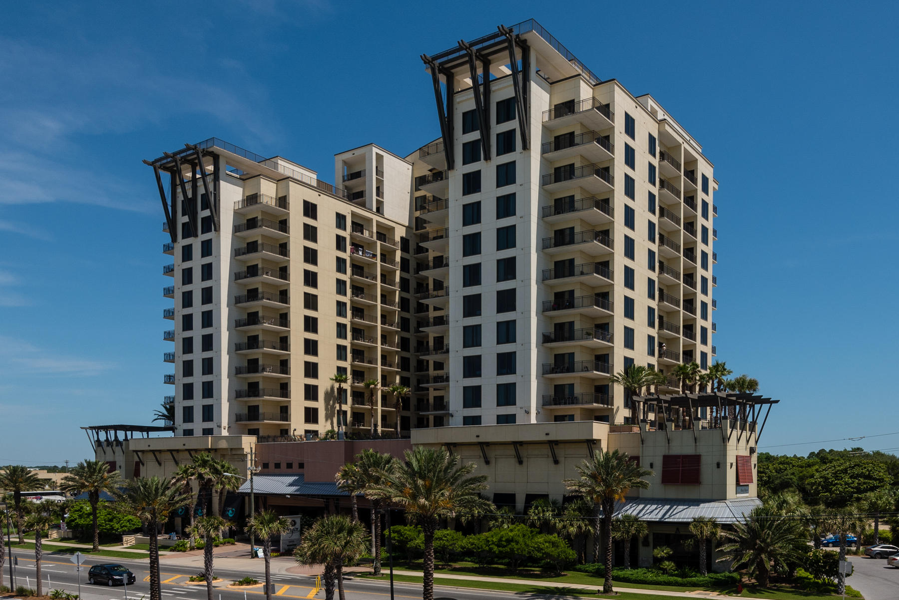 Fabulous efficiency condo across from the beautiful white beaches of Panama City Beach. Perfect for your beach getaway. Located on the 11th Floor with easy access via one of 4 Elevators. New floors and fresh paint. Origin at Seahaven has an In-house Movie Theater, Huge Heated Zero Edge Swimming Pool overlooking the ocean, Pool-side Grilling, Fitness Room, Jacuzzi, Arcade and laundry room. Only minutes from Pier Park - a 900,000 square foot family entertainment complex and a short distance to all PBC has to offer including a great Golf Course, Mini Golf, Jet Ski Rentals, Fishing, Boating, and Sailing. Buyer to verify all room sizes and dimensions.