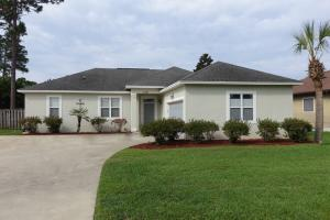One Level, 3 bedroom, home with 2 Car Garage and large fenced backyard with patio