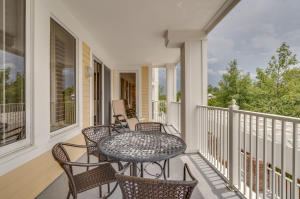 Large balcony with plenty of seating to enjoy the fireworks or Wednesday Night Concert Series right from your balcony!