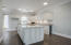 Completely renovated, modern kitchen with wine cooler.