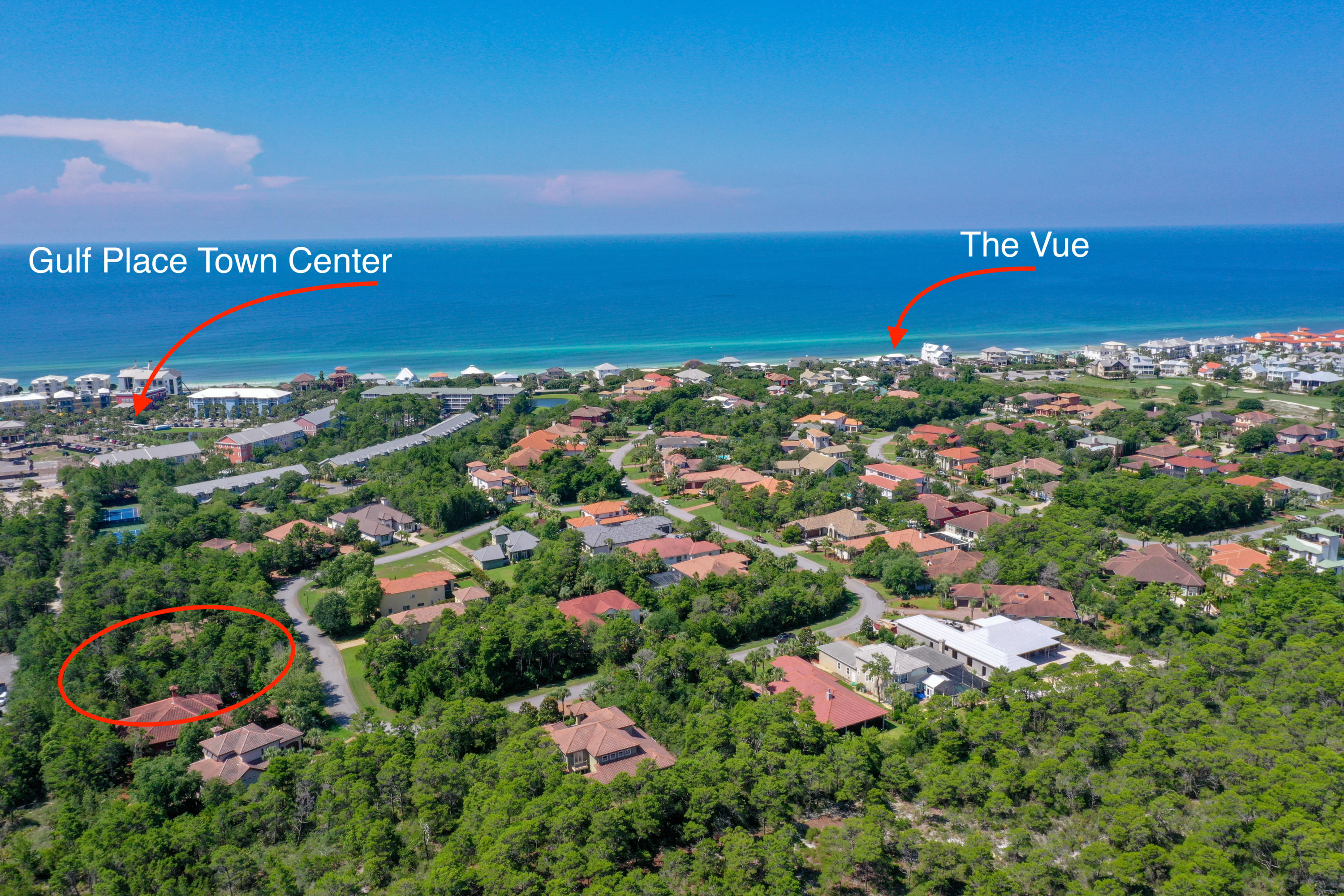 Build your Florida dream home in this exceptional gated  community across the street from the beautiful Gulf of Mexico.  At over 1/4 acre, this property is ideal for full time Florida living or a luxurious second home.  Watch sunsets from across the street at the VUE while dining at one of the areas premier restaurants.  Dedicated  beach access assures you will always have a path to the world's most beautiful beaches and emerald waters.  Shopping, dining, golf, walking trails and more are conveniently located nearby.  Make Bella Mar at Gulf Place your home for a lifetime..