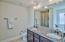 Master Bath Dual Vanities, Spearate Tub and Walk In Shower
