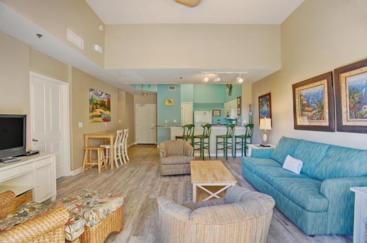 A RARE find, GULF- FRONT, CORNER unit CONDO on the FIRST FLOOR!! NO waiting for the ELEVATORS! The unit has an assigned parking spot. Currently on rental program, 2018 rental income $34,451. 1 bedroom 2 bath with a bunk room. Granite counter tops. Patio overlooks beautiful tropical landscaped lagoon pool. Steps away from the sugar white beaches with a beautiful view of the emerald Gulf!