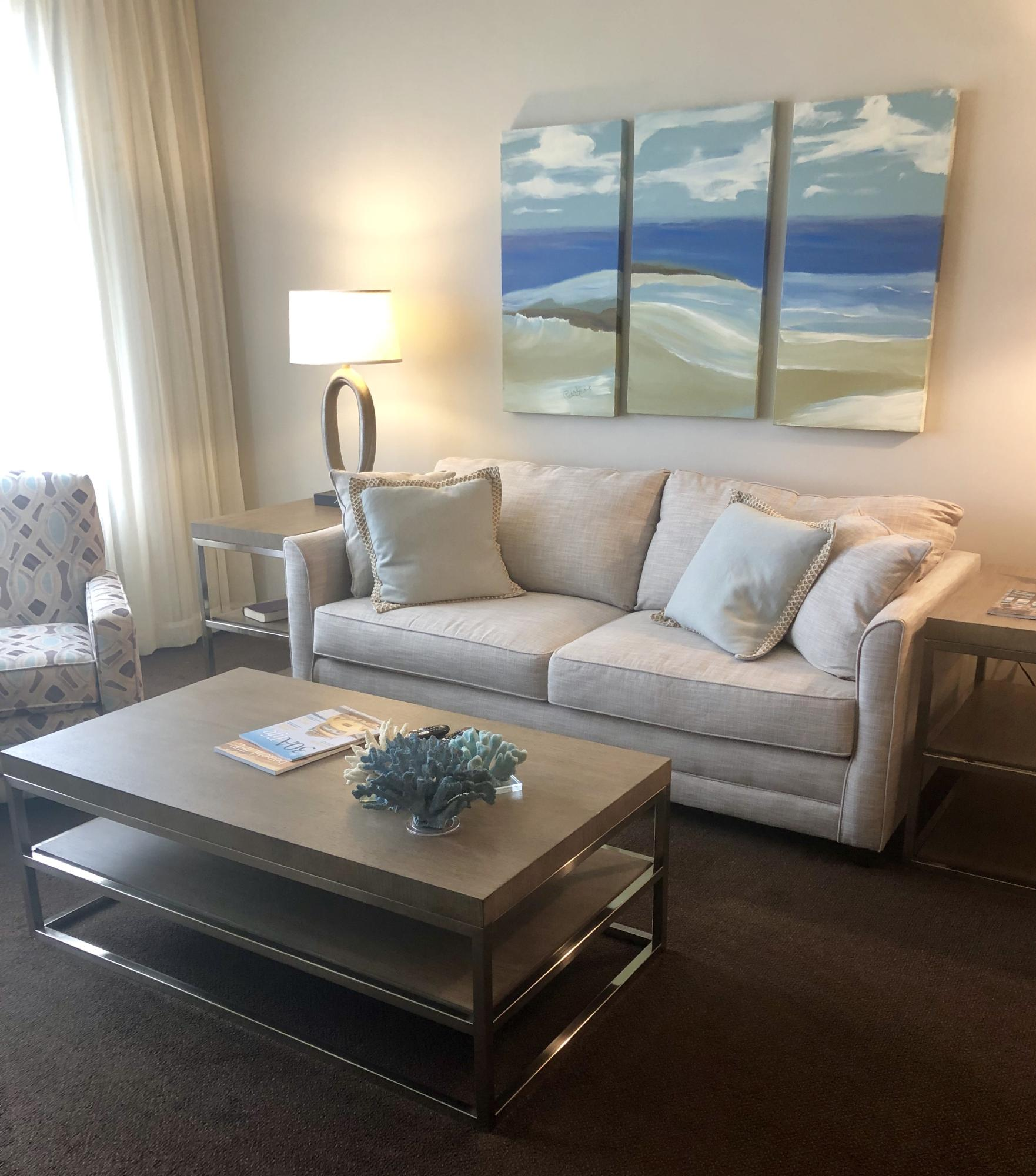 Welcome to this beautiful unit serenely tucked away in the village of the world renowned Sandestin Resort.  Everything is within walking distance from this newly decorated unit on the fourth floor. Beaches, pools, shopping, dining and golfing...what more could you ask for? Great rental income!