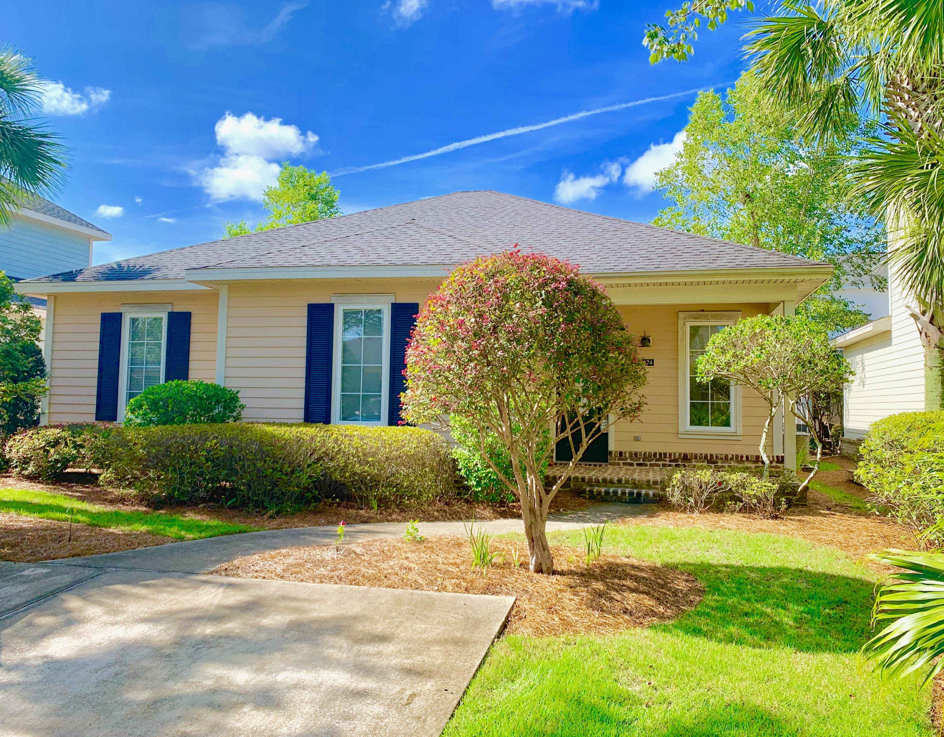SHORT SALE OPPORTUNITY in the beautiful and highly sought after subdivision of Church Street Village in Santa Rosa Beach. This three-bedroom, two bathroom home provides tile flooring throughout the living room and dining area and carpet in all the bedrooms. This charming 1,397 square-foot cottage designed home is close to all major shopping malls, restaurants, entertainment and most importantly Walton County's beautiful white sandy beaches, which is three-minute drive across highway 98 to the exclusive scenic route 30A, for the closest public beach access. This home was used as a rental home since it was constructed back in 2005. This house will make for a magnificent primary residence or rental property. Interior photos coming soon.