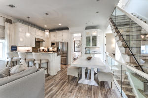 Second Level open Living Area. Beautiful and functional tile floors throughout this beautifully decorated home.