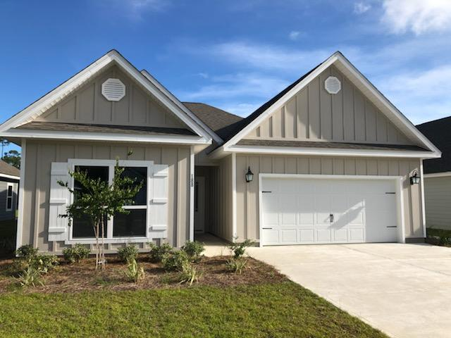 Move In Ready. Introducing the increasingly popular Muli-Generational home in South Walton minutes from the beach. Our Kennedy plan features two Master Suites, two full size kitchens, laundry facilities, private bathrooms and even multiple separate living areas the entire family can comfortably enjoy, all on one level. Stonegate is a new community in the heart of Santa Rosa Beach, minutes from dining and shopping at Grand Blvd., Sacred Heart Hospital, multiple schools and a short drive to the pristine beaches of the Emerald Coast. Enjoy light and bright colors throughout, engineered vinyl plank flooring for easy maintenance, Frigidaire appliances, Moen fixtures, and peace of mind builder warranties. Home is close to completion! Call today for your private showing of the community!