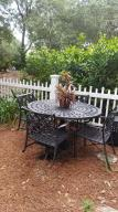 dining area of back yard