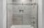 2nd floor bathroom with glass shower door