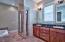 Master Bathroom view 1.