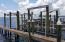 Boat slip 14 has new reinforcing pilings