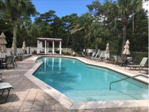 Fabulous Community Pool steps away from this beautiful homesite in Greenway Park.
