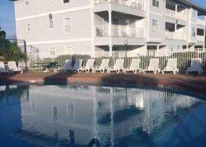 One of 2 pools in complex