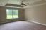 Master Bedroom with trey ceiling.*Photo of previous home. Colors & Options may vary.
