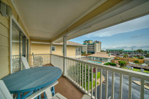 Closest 3 bedroom to the beach under $300k! Rental projections at $35k and deeded beach access! With a private community pool and an amazing view that you can enjoy from the master bedroom as well as the living room balcony, this property is sure to be your own little slice of paradise!