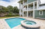 Exceptional outdoor pool deck