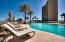 Private heated pool area of Grand Dunes II