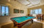 Billiard Room in the Owner's Lounge