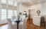 Carriage House dining with full kitchen