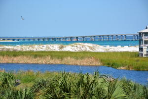 View of the East Pass and Destin Bridge from the Balcony of this unit.