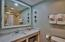 Roomy bath, also renovated/updated.