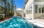 Notable 31 x 17 pool/spa with surround seating ledge