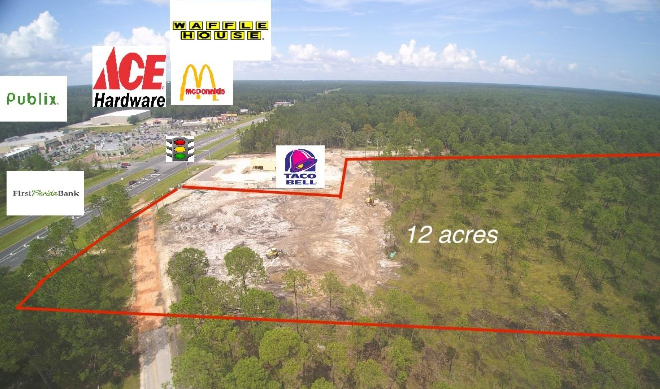 2.5 Acres Hwy 331 Adjacent to Taco Bell, Freeport, FL 32439