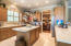 10 foot ceilings with crown molding | 16 inch tile flooring