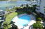 This condo overlooks the private, heated owners' pool. There is another pool for everyone including renters.
