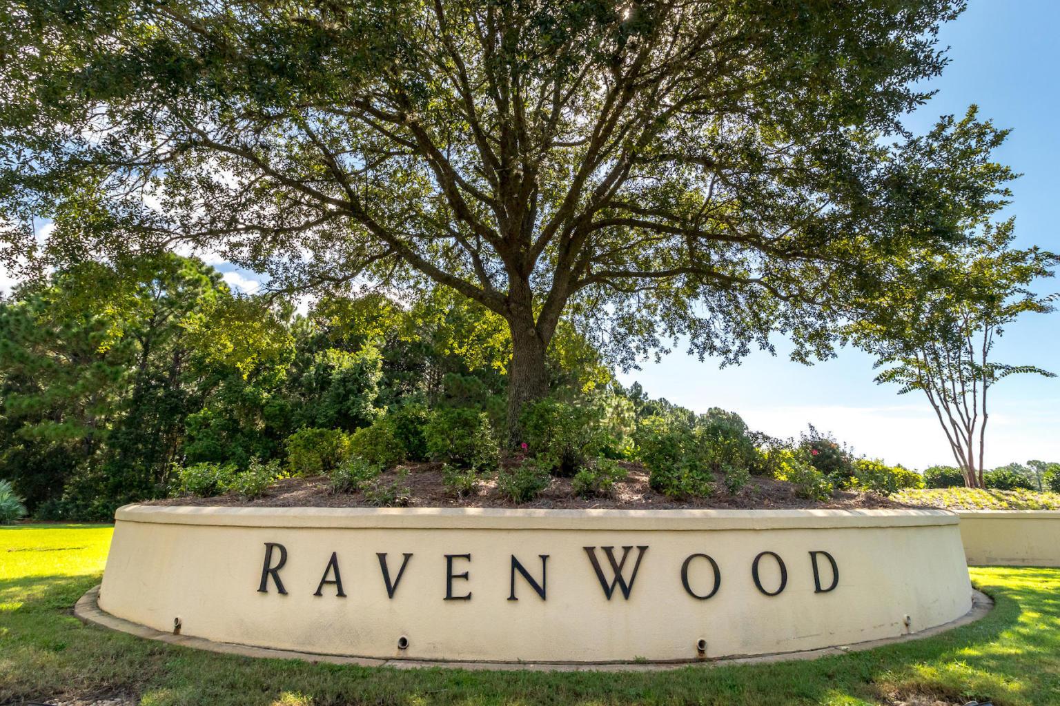 Entrance to Ravenwood Nieghborhood