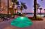 The Hot Tub at the Grand Lagoon pool at Sunset
