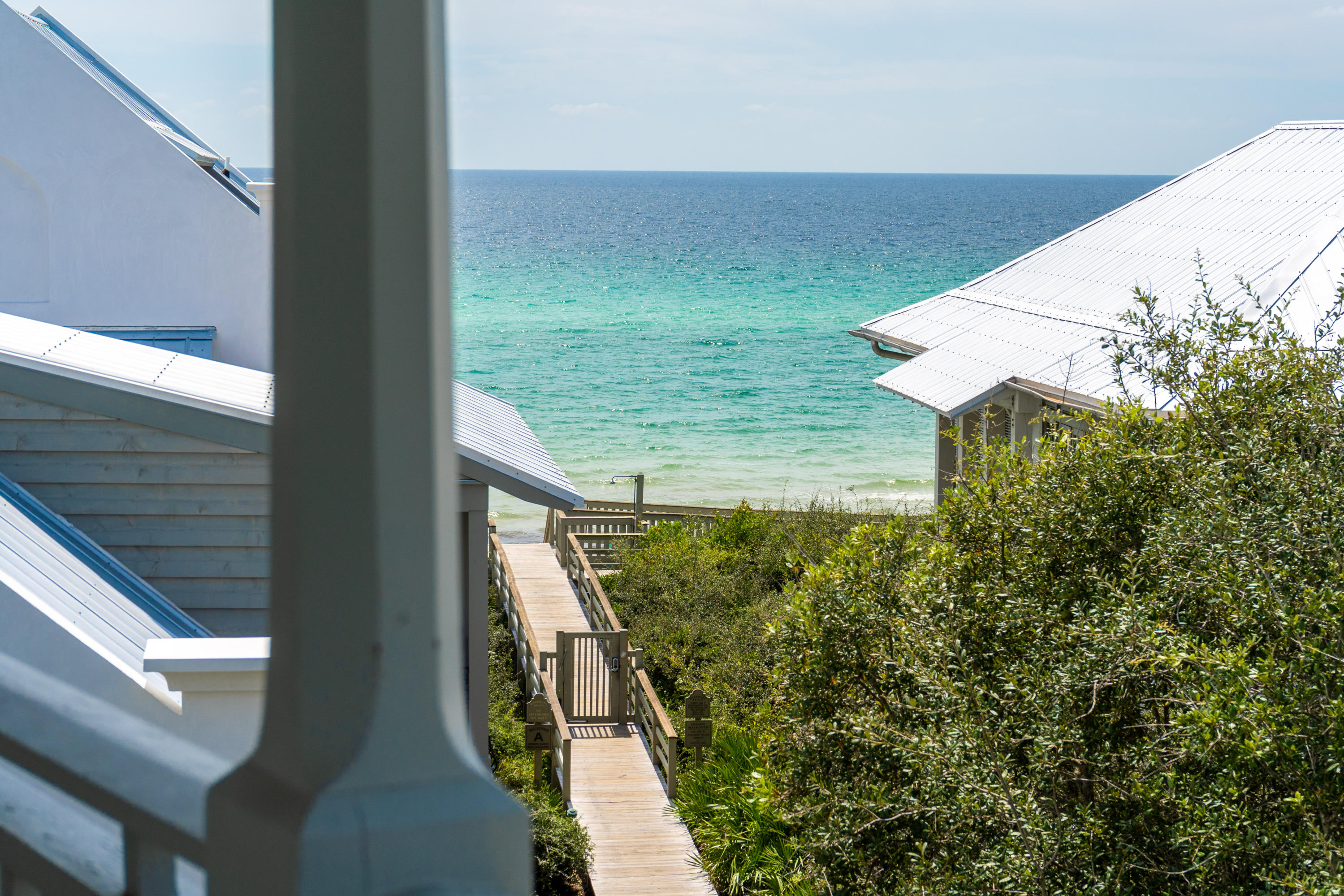 The luxurious 5-Bedroom/5.5-Bath property celebrates Rosemary Beach's indoor-outdoor lifestyle with