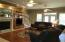 Wood Flooring, recessed lighting, built-ins and more.