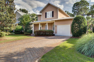 Paved driveway with curb appeal.