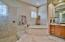 Jacuzzi Tub and Enclosed Shower