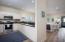 entering front door open kitchen to living room