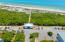 Aerial of the nearby beach access insulated by protected county-owned property and offering plenty of parking, restroom facilities, and a boardwalk cut through the beautiful natural south Walton sand dunes. Just minutes away.