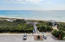 Aerial view of boardwalk to beach less than a minute away. Protected Beach - No Customary Use issues