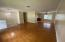Living are on top floor, Hardwood floors, crown molding, new lighting, new paint