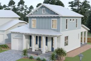 The Stallworth floor plan features 4 bedrooms, 3.5 bathrooms, 2,006 sq ft, a flex space, 2 porches and a 1-car garage.