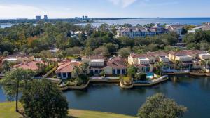 Fountains aerial view