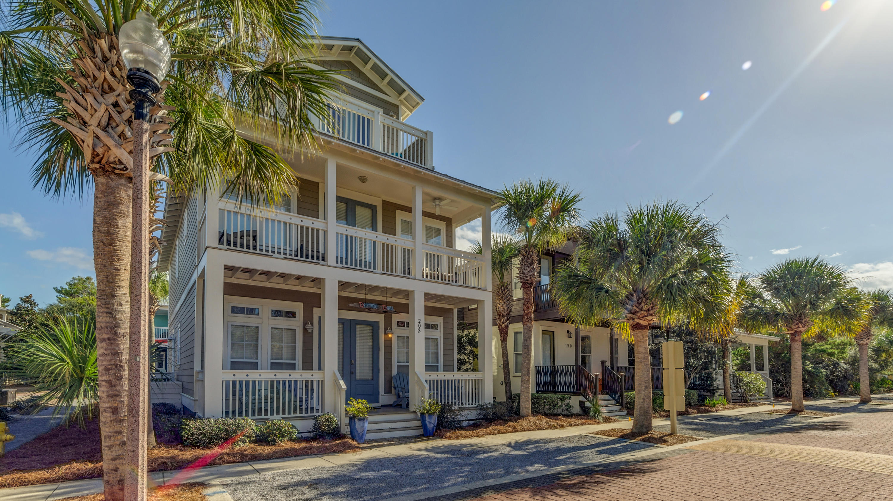 Charming, custom, craftsman home in Seacrest Beach. 202 Seacrest Beach Blvd West boasts 4 bedrooms,