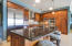 """Beautiful Chef's Kitchen with """"Premium""""stainless steel appliances, custom cabinetry, granite countertops"""