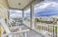 Balcony from Master Bedroom and Guest Bedroom with Gulf Views