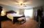 Spacious master bedroom with newer carpet!