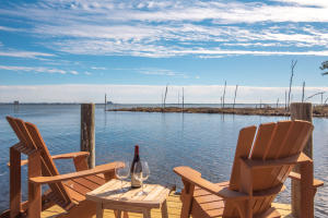 Enjoy views of Crab Island and Destin from your new dock
