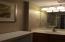 Full bath in second bedroom