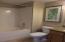 Tub/shower in guest bath