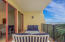 Large Balcony with view of Coastal Dune Lake, Gulf and pool area.